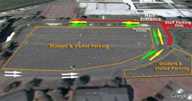 Parking on campus